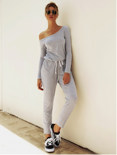 5 Chic and Classy Clothes for Fall 2020 - Vibrant Gray Single Shoulder Elastic Waist Jumpsuit Sensual Curves