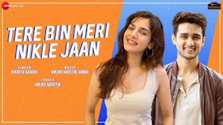 Tere Bin Meri Nikle Jaan Lyrics Nikhita Gandhi