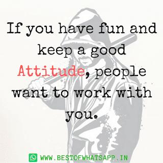Best Whatsapp Attitude Status