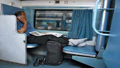 6 Types of People Make Your Train Travel Entertaining In India - Vibhu & Me