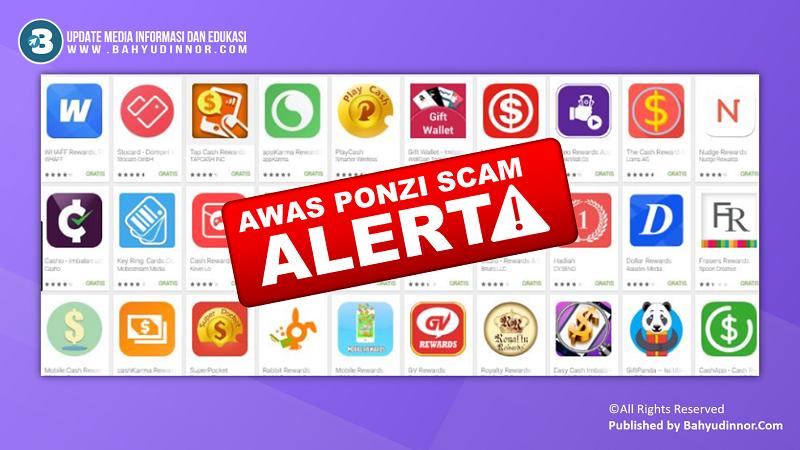 Kenali Sistem Ponzi+Scam