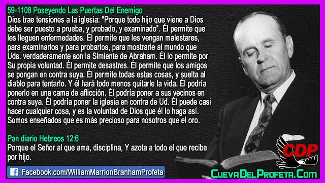 Dios trae tensiones a la iglesia - William Branham en Español