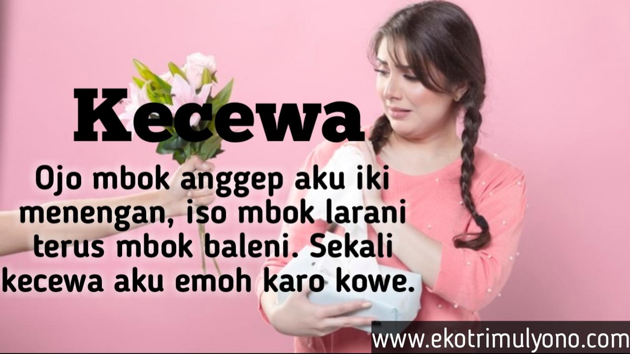 Gambar kata Kata Kecewa Bahasa Jawa
