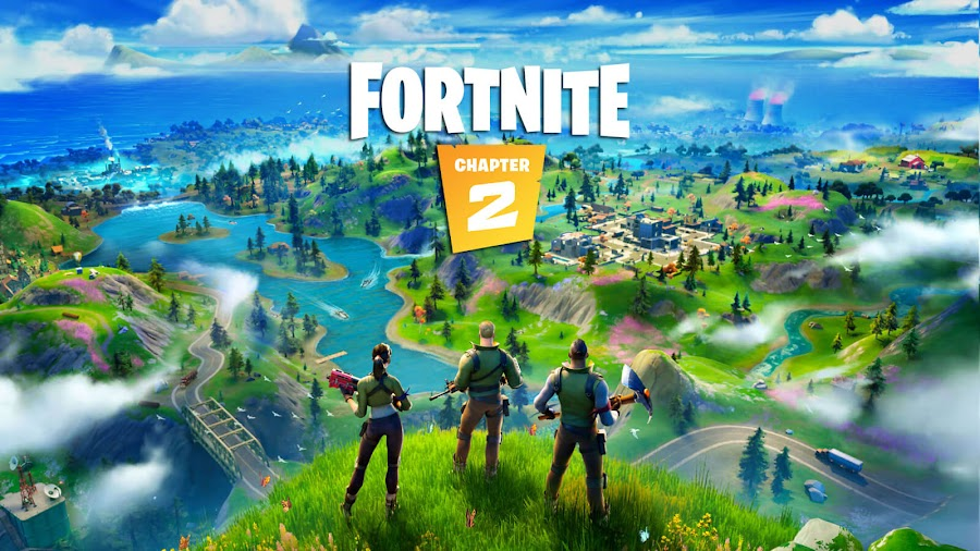 fortnite battle royale chapter 2 update live new map boats guns grind epic games pc ps4 switch xb1 patch notes