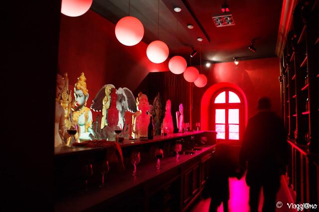 Sale espositive al Terzo piano del Museo del Vino di Barolo