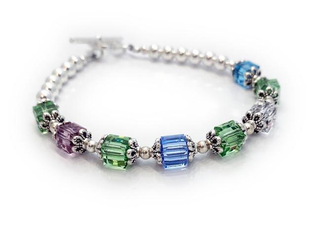 8  Birthstone Bracelet for Mommy or Grandma