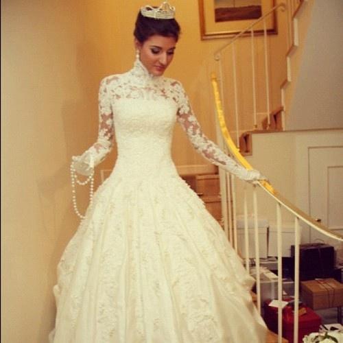 Maria Rudge de noiva