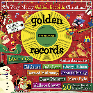 A Very Merry Golden Records Christmas Review & Giveaway