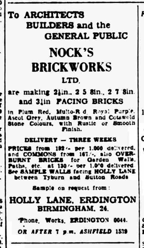 UK Named Bricks