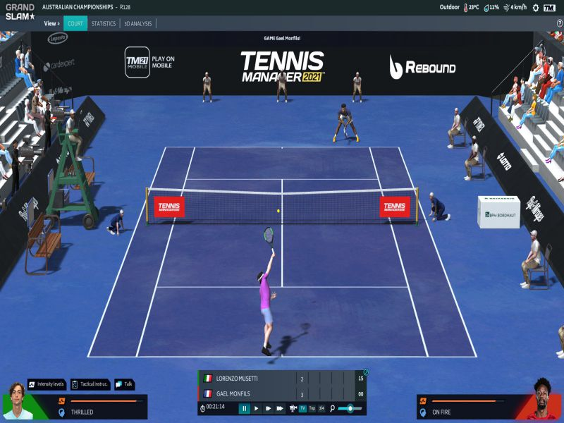 Tennis Manager 2021 PC Game Free Download