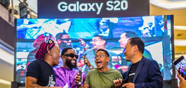 @SamsungMobileSA @CassperNyovest Take Over @SandtonCity #GalaxyS20Studio