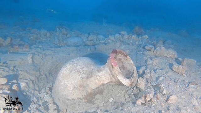 Roman shipwreck carrying Gallic amphoras found off coast of Portofino, Italy