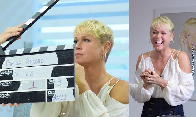 """Xuxa participa do """"Família Record 2017"""" virtualmente"""