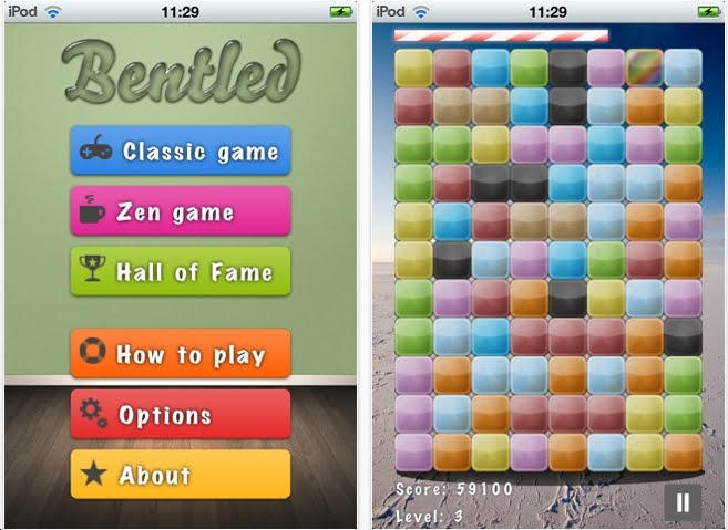 The Best iphone, ipad Puzzle Apps and Mechanical Puzzles: Bentled