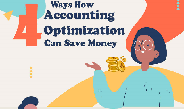 4 Ways How Accounting Can Save Money #infographic