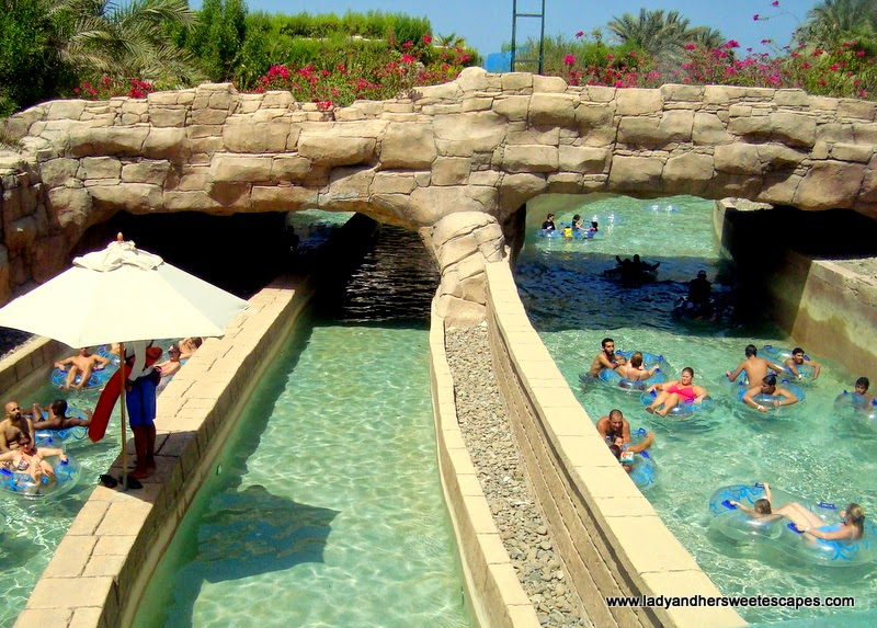 summer in Atlantis Aquaventure Dubai