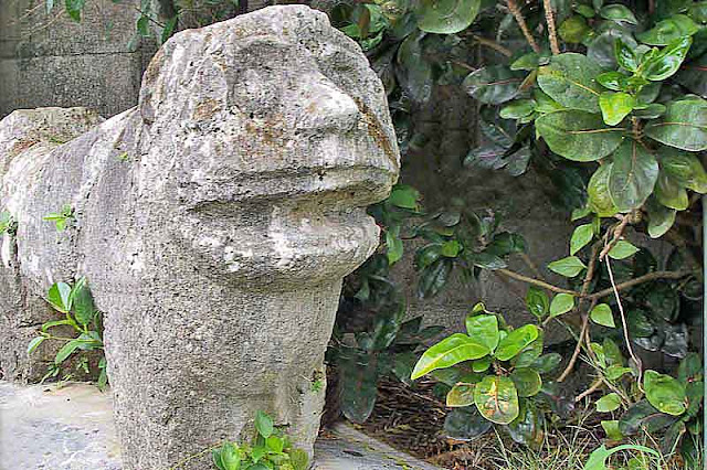 lion-dog, Shimakanka, statue, Okinawa, culture