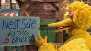 Big Bird, Sesame Street Episode 4413 Big Bird's Nest Sale season 44