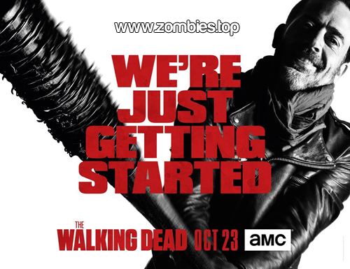 Poster de Negan en The Walking Dead