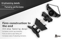 Anti-Drop Design membuat konstruksi rubik ini sangatlah kuat