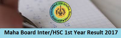 Maha Board Inter 1st Year Result 2017