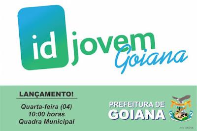 ID Jovem será lançado no próximo dia 04/10 em Goiana