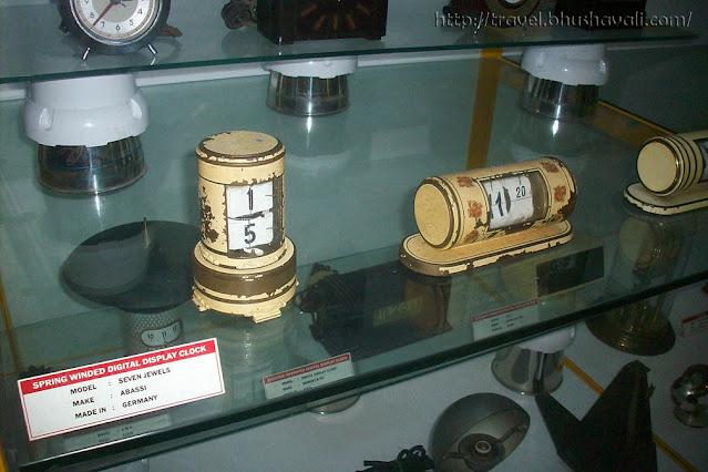 GD Naidu Science Museum Industrial Exhibition Vintage Digital clock