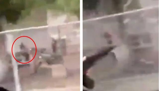 Video.- Sicarios de recién formado Grupo Flechas Elites de El Mayo Zambada se graban disparando casas de sus rivales