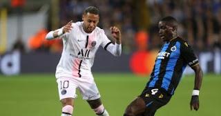 تعادل باريس سان جيرمان 1-1 مع كلوب بروج في دور المجموعات بدوري أبطال أوروبا