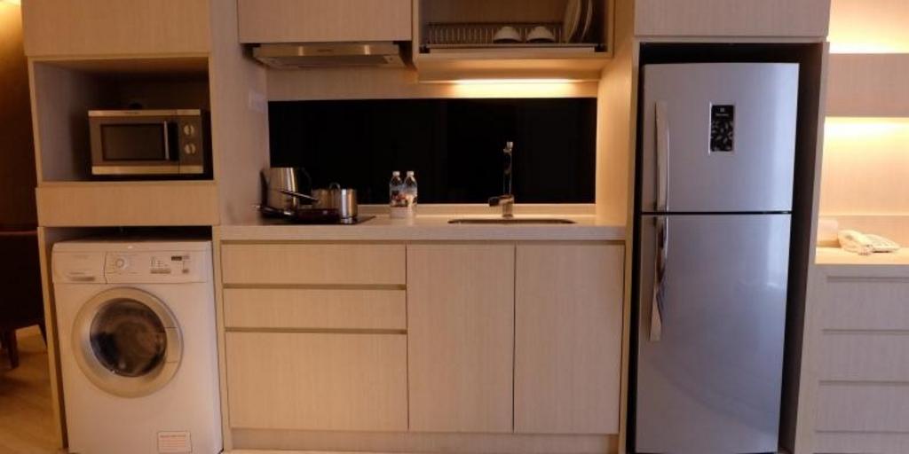 kitchen set dengan mesin cuci 2