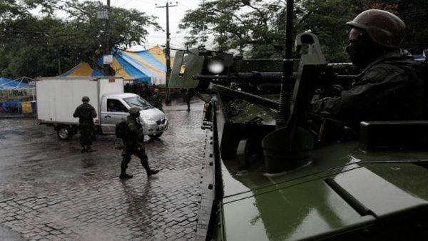 Denuncian a agentes por crimen organizado en Río de Janeiro