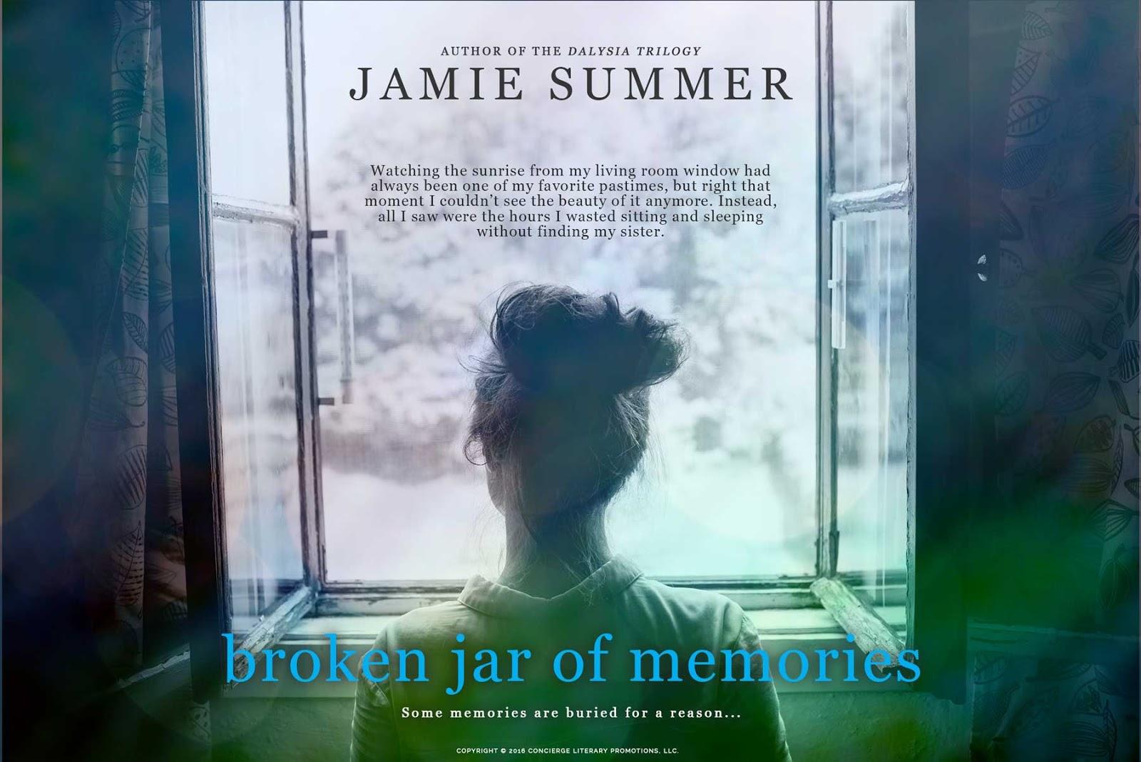 Lisa bilbrey 39 s blog cover reveal broken jar of memories for Window quotes goodreads