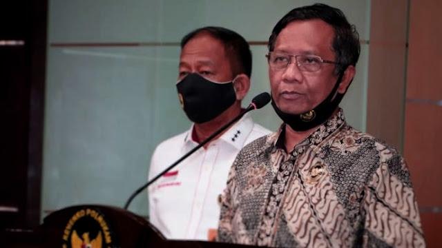 Soal TNI Copot Baliho Habib Rizieq, Mahfud MD: Kebenaran Akan Temukan Jalannya
