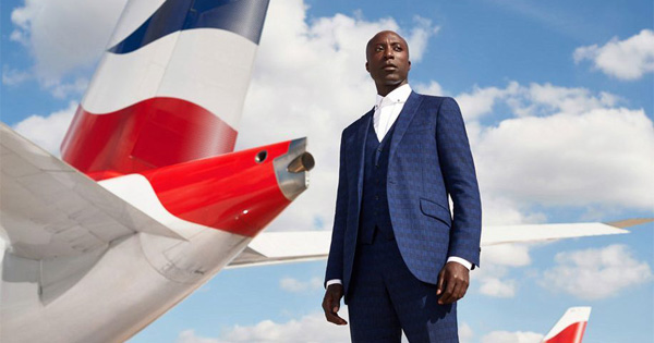 Ozwald Boateng, fashion designer for British Airways uniforms