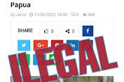 """Klarifikasi berita yang telah  liput di media pasifik pos.com; tentang dukung  pemekaran provinsi papua tengah dan Otonomi Khusus jilid II  oleh bapak  """"Hans mote"""" di Sentani Kamis, Februari/2021."""