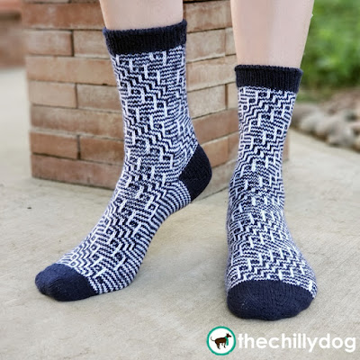 Grand Staircase Socks Pattern: Learn new skills while you knit with 5 helpful and free companion videos