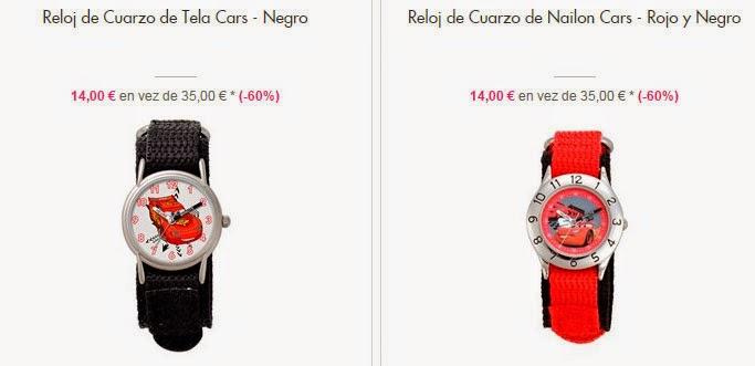 relojes pelicula Cars