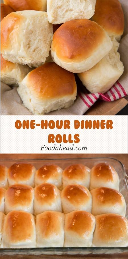 One-Hour Dinner Rolls
