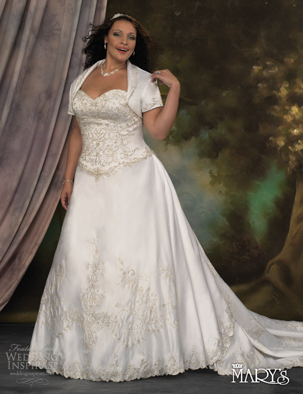 Mature brides 2nd wedding dress plus size brides bridal for Wedding dress ideas for plus size