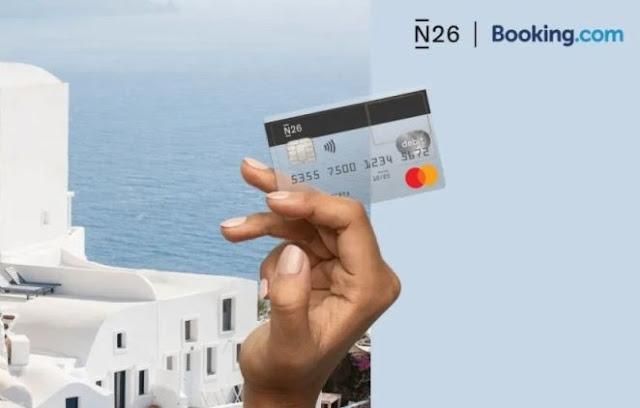 N26 Booking cashback desconto viajar mastercard
