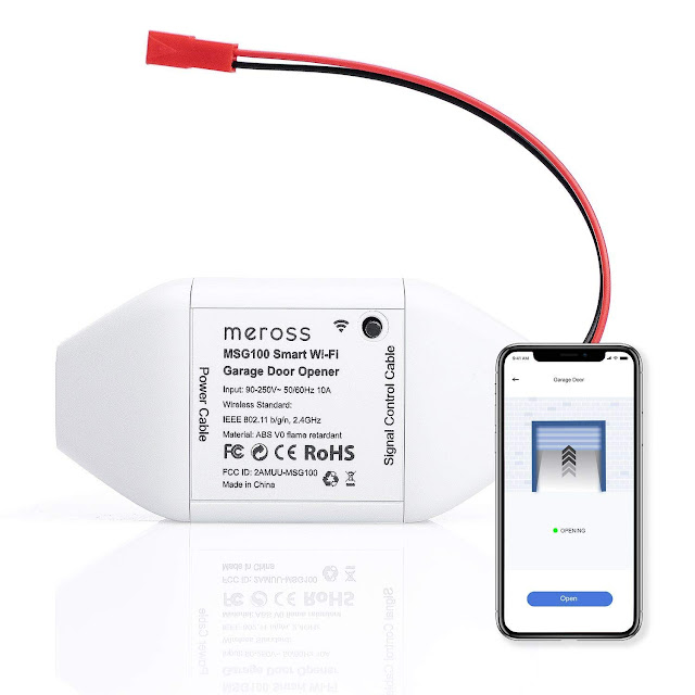 Meross Smart Wi-Fi Garage Door Opener Remote