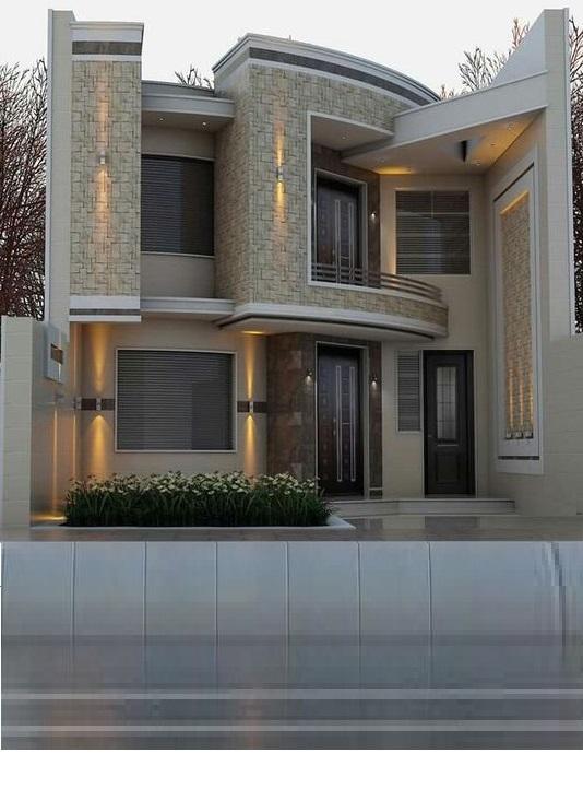 Best 60 Modern House Front Facade Design Exterior Wall Decoration 2020