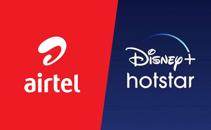 Good News: Airtel अब डेटा के साथ फ्री में Disney+Hotstar VIP सब्सक्रिप्शन मिलेगा, दो नए प्लान किए...