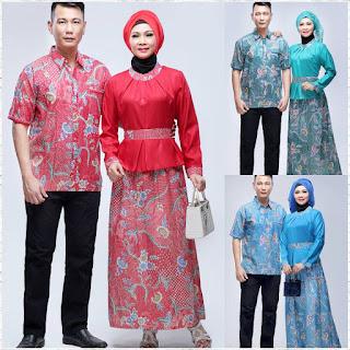 Model Baju Batik Gamis Seri Diva Couple Batik Bagoes Solo