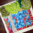 Art quilt blocks for community quilt