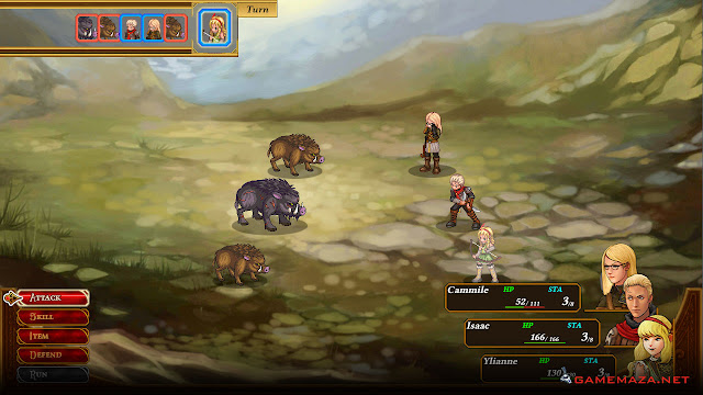Celestian Tales Old North Gameplay Screenshot 2