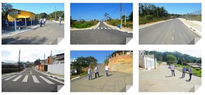 Programa Mais Asfalto por quase toda a cidade de Registro-SP