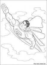 Colorearrr Superman Para Dibujar Pintar Y Colorear