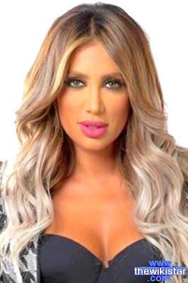 Maya Diab, a Lebanese singer and presenter and actress.
