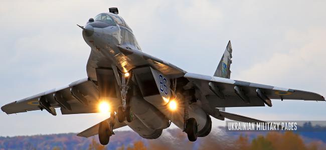 МіГ-29 204 бригади тактичної авіації